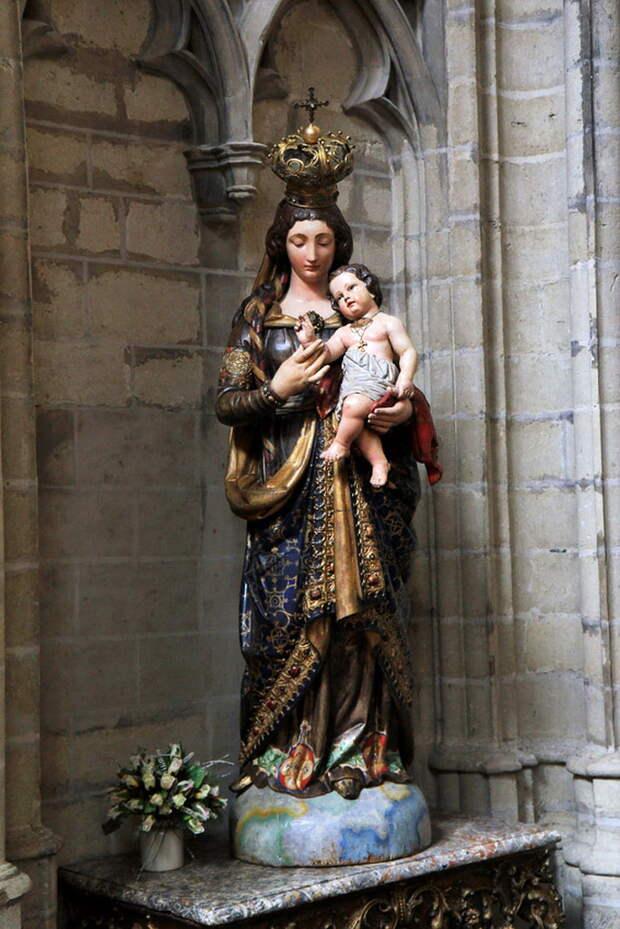 Кафедральный собор Святого Михаила. Брюссель. Бельгия.