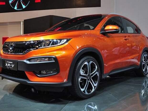 В Китае представили компактный кроссовер Honda XR-V