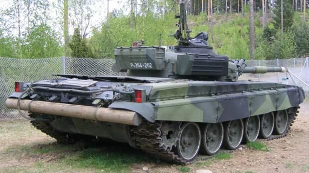 Бревно на русском танке! Зачем?