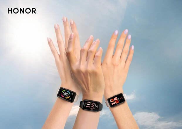 Стартовали продажи умного браслета Honor Band 6 с огромным экраном в России