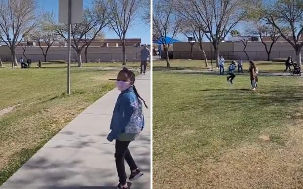 Девочка впервые увидела подругу вживую. Это был лучший день в ее жизни