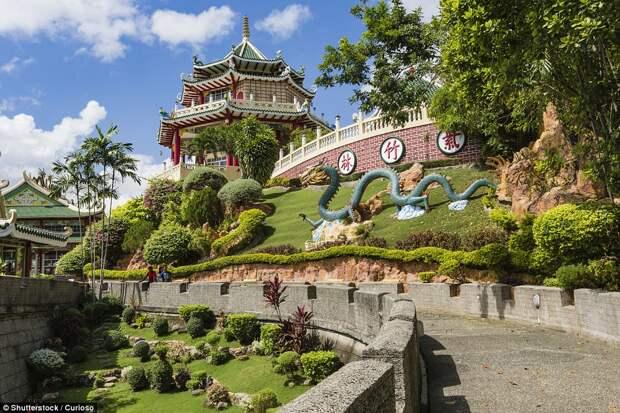 Таоистский храм в Себу на Филиппинах