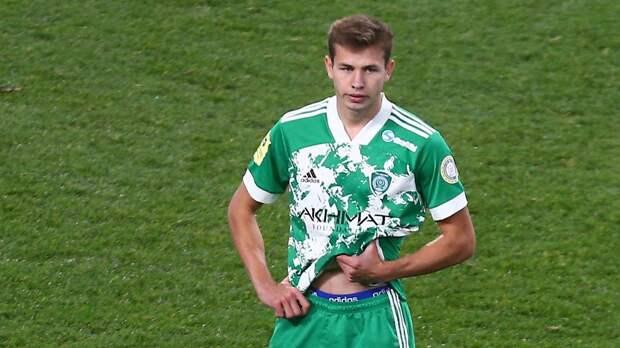 «Пожму руку каждому игроку «Локомотива». Дисквалифицированный на 8 матчей за драку игрок «Ахмата» извинился