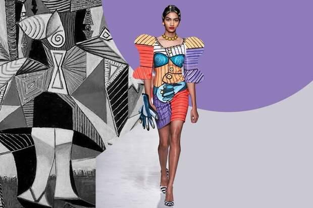 Версаче и Энди Уорхол, YSL и Винсент Ван Гог: как дизайнеры цитируют знаменитых художников