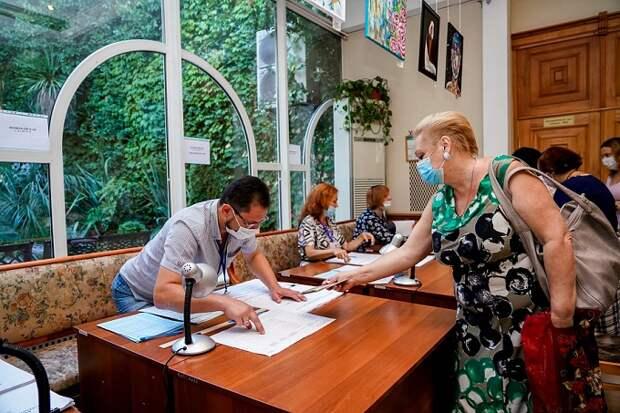 На Кубани явка на выборы составляет 58 процентов
