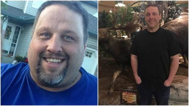 Неподъемная совесть: канадец похудел на 140 килограммов после того, как занял два места в эвакуационном самолете