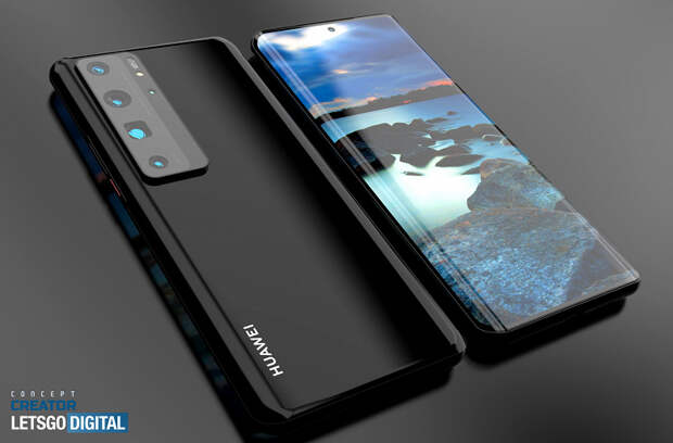 Красивая демонстрация Huawei P50 Pro. Качественные изображения и видео с компьютерной моделью на основе утечек