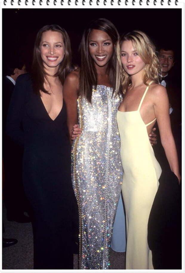 Christy Turlington, Naomi Campbell, Kate Moss