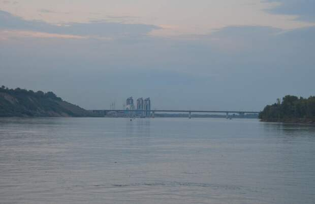 Берег левый, берег правый... Обь в районе Барнаула