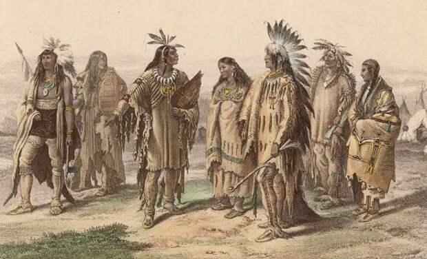 Носить головные уборы у индейцев могли далеко не все. /Фото: diletant.media