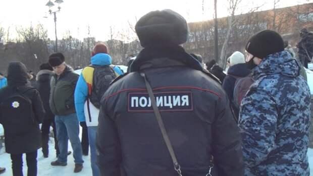 Незаконный митинг в поддержку Навального провалился на Камчатке