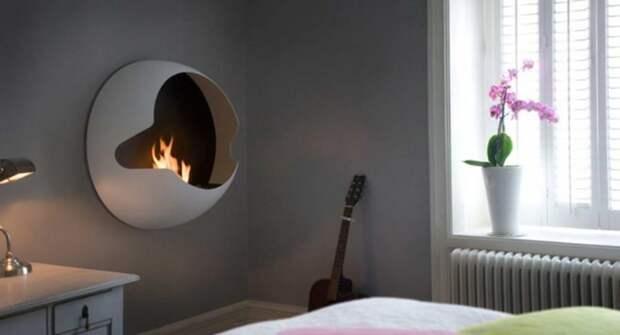 8 дизайнерских биокаминов для квартиры