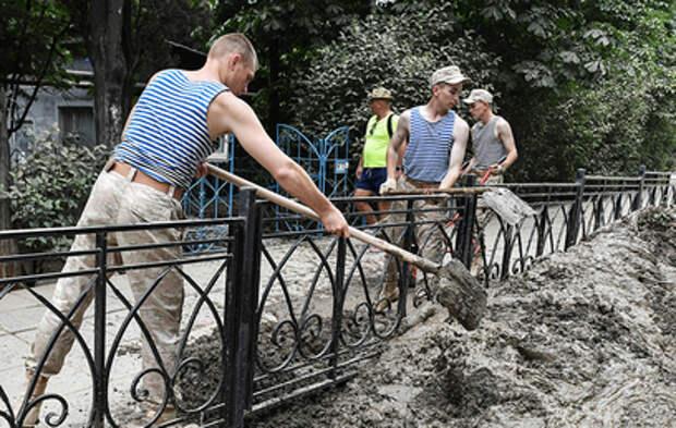 Путину доложили о ликвидации последствий подтоплений в Крыму