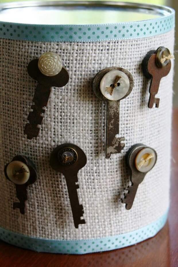 Ключи не для замков: идеи использования ключей в декоре интерьера
