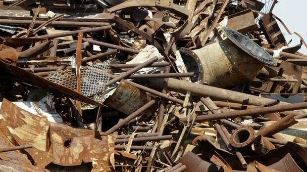 В Колпино закрыли незаконный пункт по приёму лома чёрных и цветных металлов