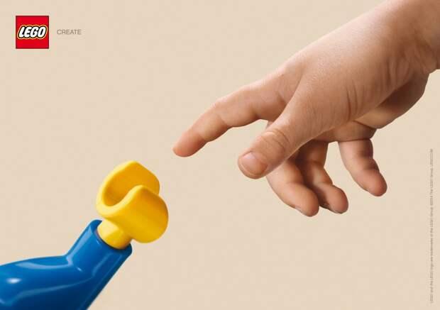 Lego вдохновилось Микеланджело