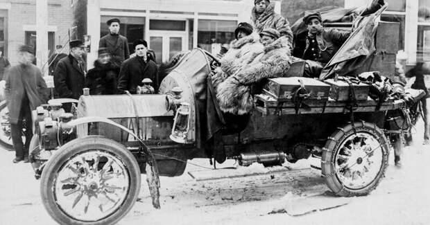 Из США в Париж через Россию: отчаянные автогонщики авто, гонки, страницы истории