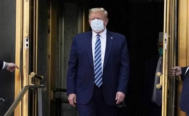 NYT: лекарства откоронавируса могли сделать Трампа сумашедшим