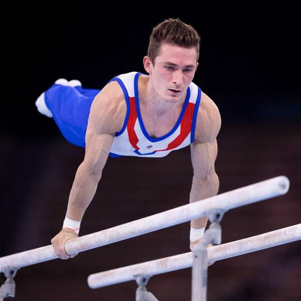 Гимнаст из Удмуртии Давид Белявский занял 5 место в соревнованиях на брусьях на Олимпиаде