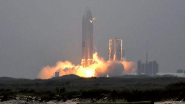 Успешное приземление прототипа SpaceX