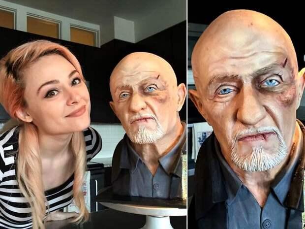 Эта девушка делает невероятно реалистичные торты, которые ничем не хуже восковых фигур