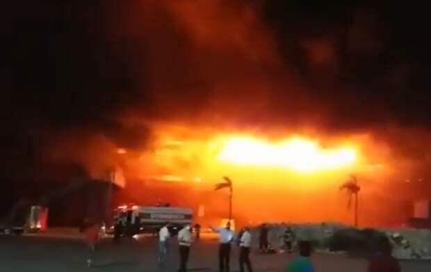 В Аргентине сгорел автодром