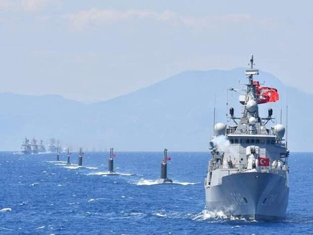 Украина и Турция договорились о взаимных визитах военных кораблей