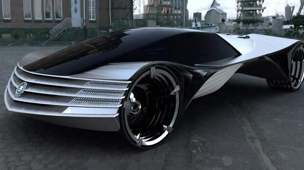Концепт автомобиля Cadillac с ториевым двигателем.