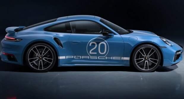 Porsche отмечает 20-летие в Китае выпуском 911 Turbo S Anniversary Edition