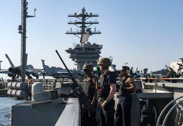 Американская АУГ вошла в Персидский залив