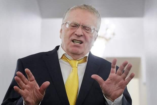 Жириновский заявил, что без проблем может стать президентом Украины
