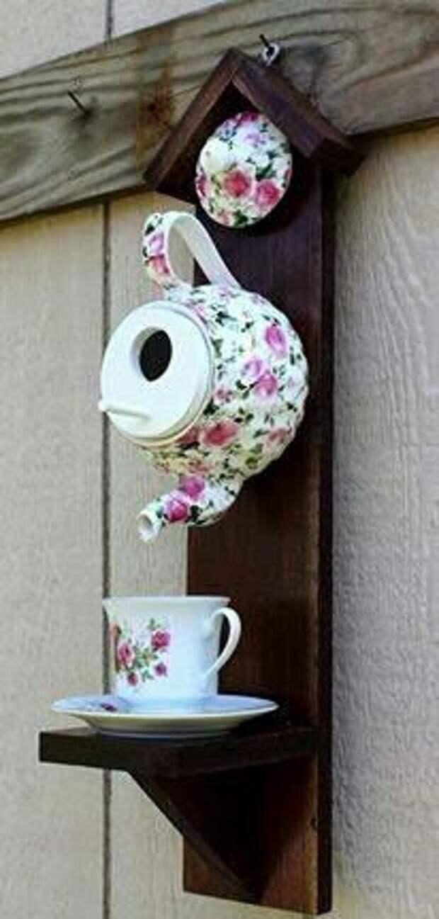 Сервисный теремок для птиц)