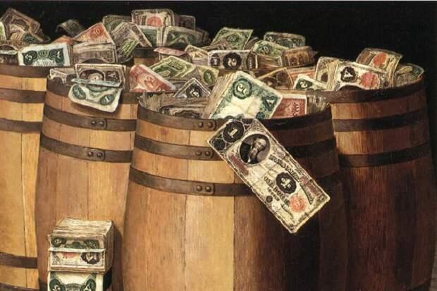 Россия в течение месяца полностью выведет $ из структуры ФНБ
