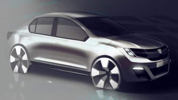 Renault анонсировал новый компактный седан для развивающихся стран