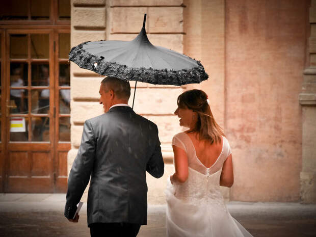 Дождь - это не страшно.