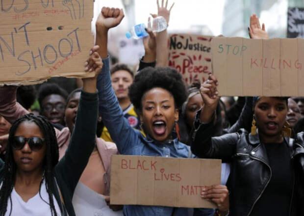 США на пороге войны чёрных против белых