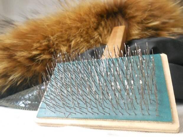 Как распушить искусственный мех и вернуть ему блеск