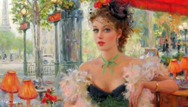 Женские портреты Константина Разумова: легкость, свет и эротизм эпохи бурлеска