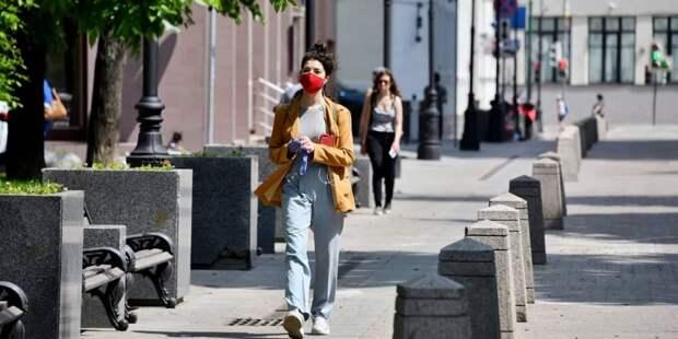 В Москве будет усилен контроль за ношением масок и перчаток. Фото: Ю. Иванко mos.ru