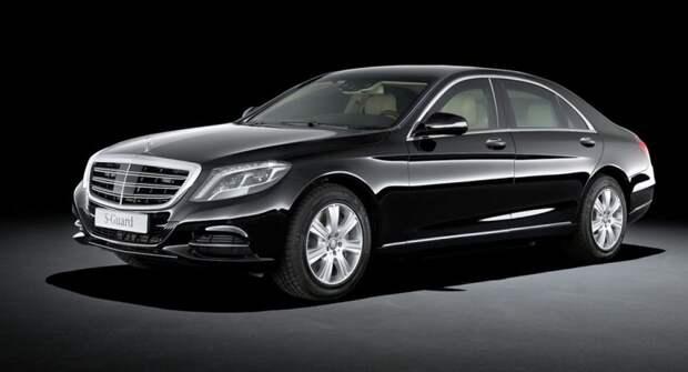 Раскрыты особенности представительского автомобиля президента Турции Эрдогана Mercedes S600 Guard