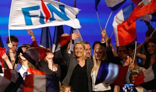 Во французский сенат впервые в истории вошёл Национальный фронт Марин Ле Пен