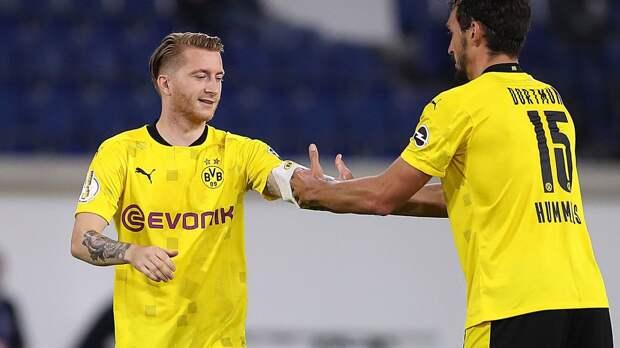«Шальке» — «Боруссия» Дортмунд: объявлены стартовые составы. Ройс проведет свой 300-й матч в Бундеслиге
