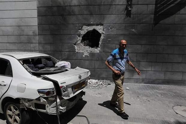 Израиль заявил о пуске 200 ракет из сектора Газа за прошедшую ночь