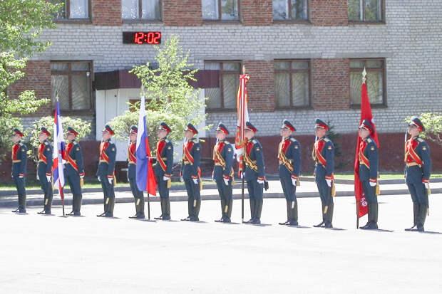 Около 60 лейтенантов выпускников военных учебных центров прибыло для прохождения службы в войска ЦВО в апреле