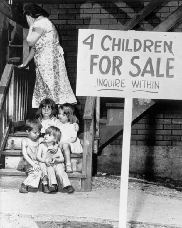 «Продаются четверо детей. Спросить хозяйку». История о том, как мать продала дочерей и сыновей по объявлению