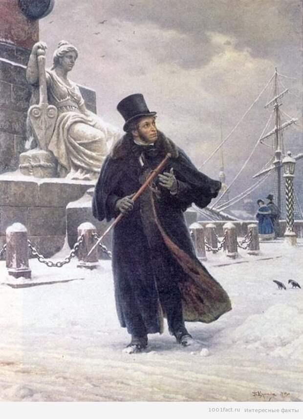 факты о А.С.Пушкине