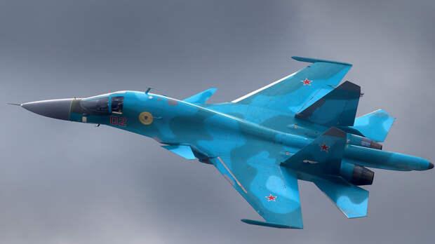 Минобороны РФ передислоцирует истребители Су-34 на арктические острова