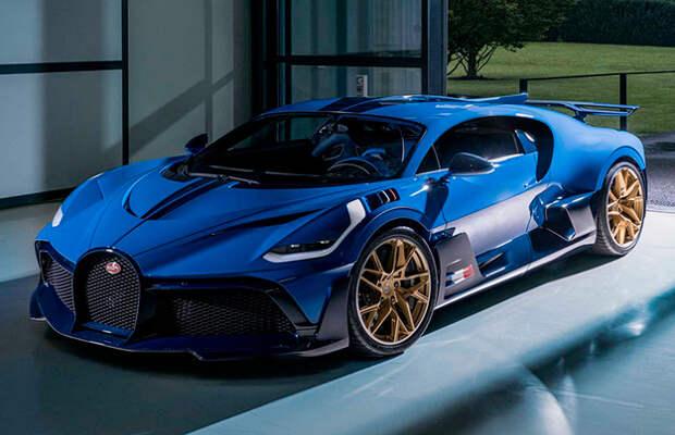 Bugatti завершил проект Divo