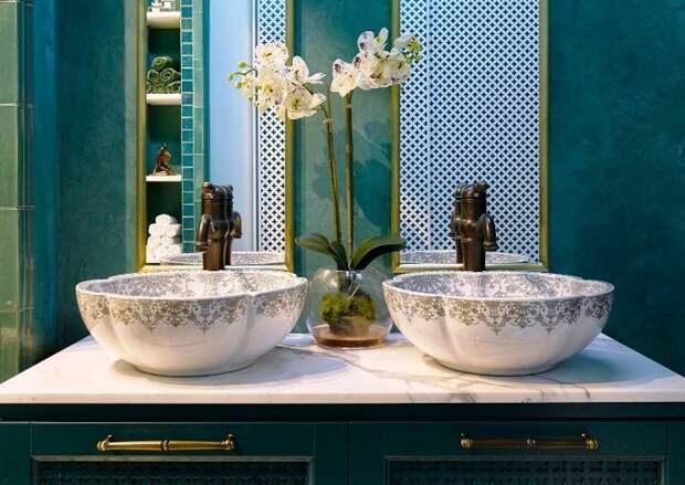 9 идей для ванны в восточном стиле: от плитки до мыльницы