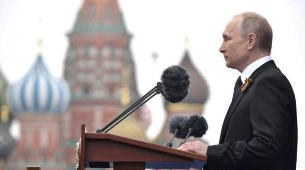 Польские эксперты назвали выступление Путина на параде Победы международным посланием